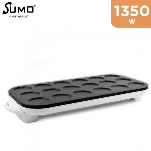 سومو – 1350 واط صانعة الكريب 18 قطعة – أبيض