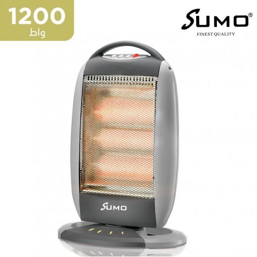 سومو - دفاية هالوجين كهربائية 1200 واط - أبيض