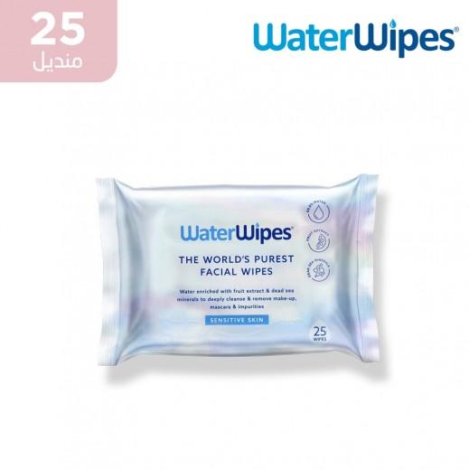 ووتر وايبس - مناديل للبشرة الحساسة 25 منديل