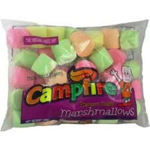 كامبفير – حلوى مارشمالو الخطمى - حجم كبير – ملونة بنكهات الفاكهة 300 جم