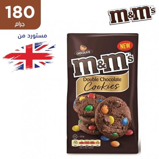 ام اند امز كوكيز شوكولاتة دبل 180 جم