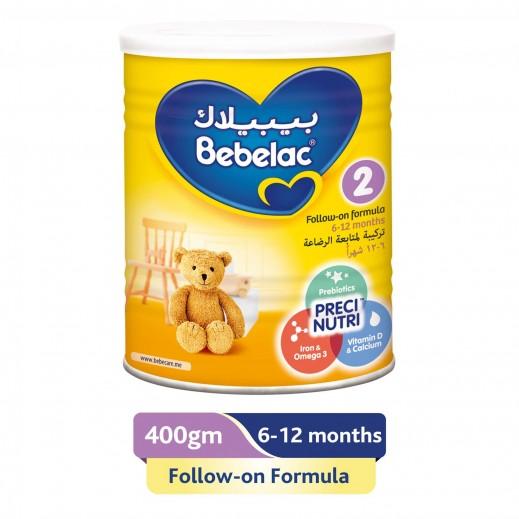 بيبيلاك - تركيبة حليب لمتابعة الرضاعة مرحلة 2 (6 - 12 شهر) - 400 جم