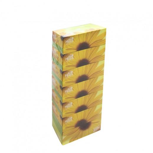 سانيتا هلا – مناديل ورقية 150 منديل ( 7 حبة )