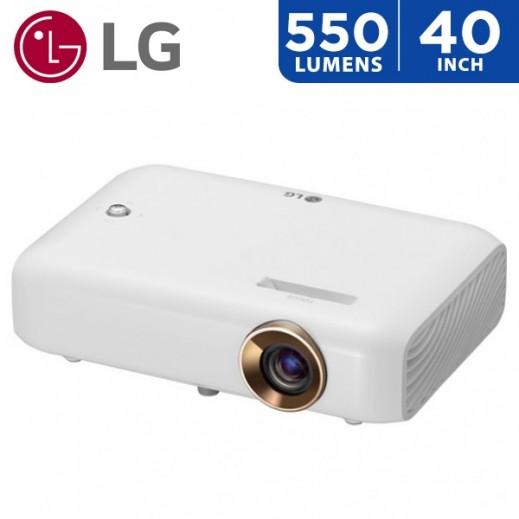 """إل جي - بروجكتور 550 لومينز حجم شاشة يصل الي 1.24 م / 40"""" - يتم التوصيل بواسطة ABDULAZIZ ALBABTAIN CO."""