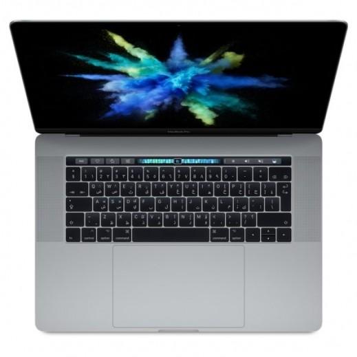 """ابل – ماك بوك برو 15.4"""" شريط لمس معالج كور i7  بقوة 2.9 جيجاهيرتز 512 جيجابايت – رمادي - يتم التوصيل بواسطة DIGITS"""