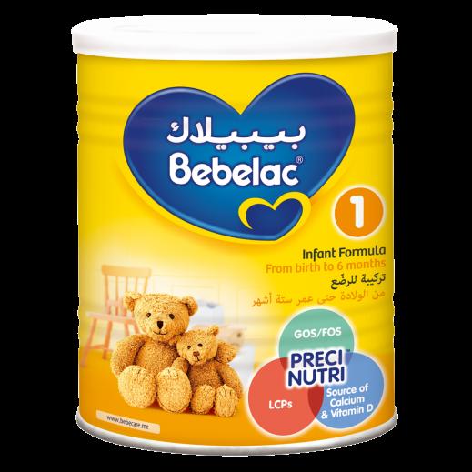 بيبيلاك - تركيبة حليب للرضع مرحلة 1 (0 - 6 أشهر) - 400 جم