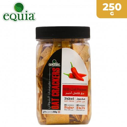 إيكوا – خبز الشوفان المقرمش مع الفلفل الأحمر 250 جم