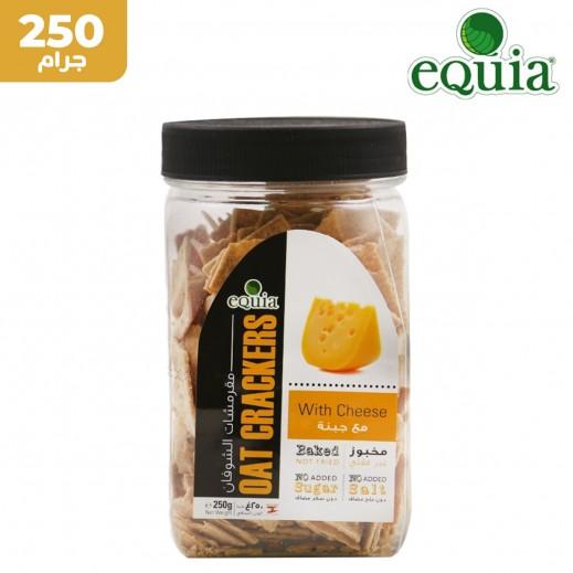 إيكوا – خبز الشوفان المقرمش مع الجبنة 250 جم