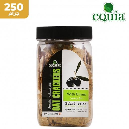 إيكوا – خبز الشوفان المقرمش مع الزيتون 250 جم
