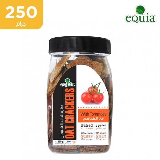 مقرمشات الشوفان إكويا مع الطماطم ( 250 جم)