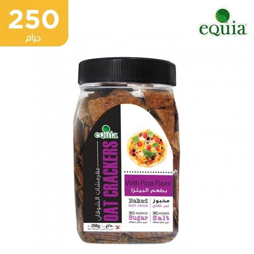 مقرمشات الشوفان إكويا بطعم البيتزا ( 250 جم)