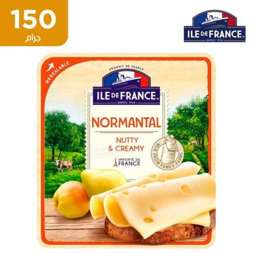 إيل دو فرانس – شرائح الجبن الكريمي والمكسرات 150 جم