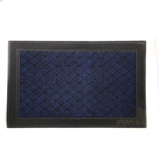 سجادة باب إيطالي (40 × 60 سم) - أزرق