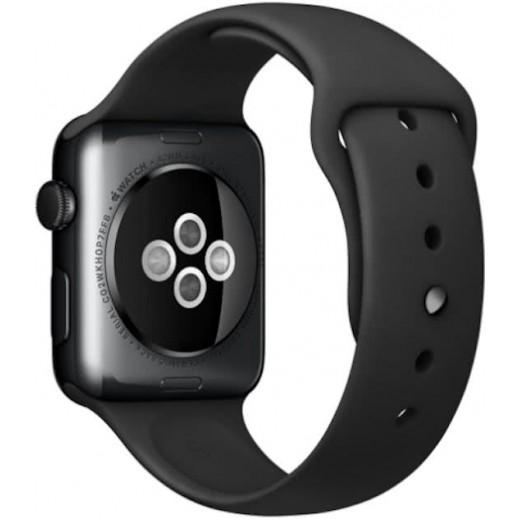 Coteetci Wrist Strap for Apple Watch 42mm - Black