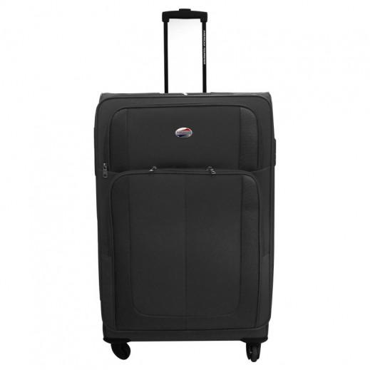 """أميريكان تورستر – حقيبة سفر """" فلوريدا """" حجم كبير 75 سم - أسود"""