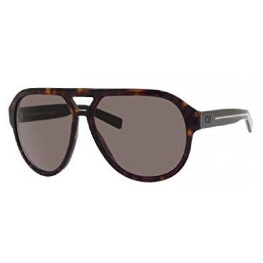 كريستيان ديور – نظارة شمسية للرجال - دارك هافانا   - يتم التوصيل بواسطة Waleed Optics