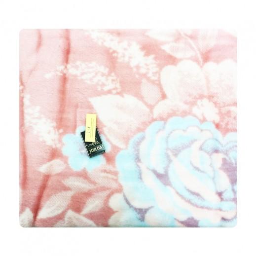 جوردا ألاسكا – بطانية أسبانية 200 × 240 سم - وردي