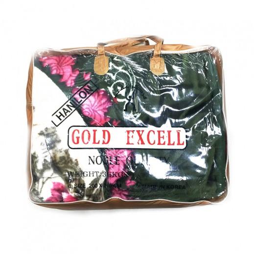 جولد إكسل – بطانية كوري 200 × 240 سم - أخضر