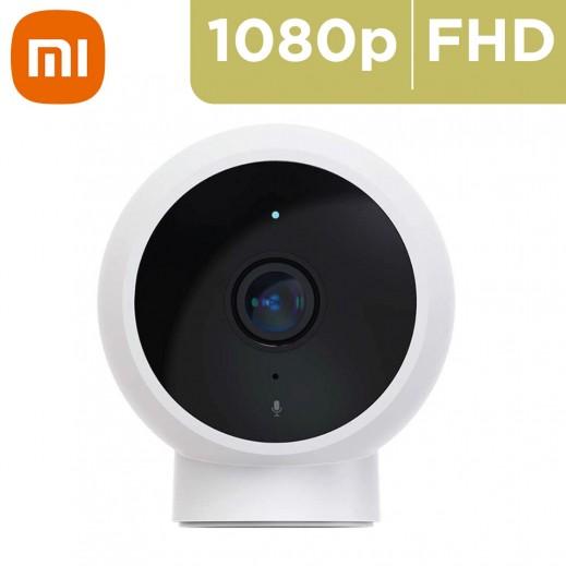شاومي - كاميرا مراقبة مغناطيسية 1080P مي هوم - أبيض
