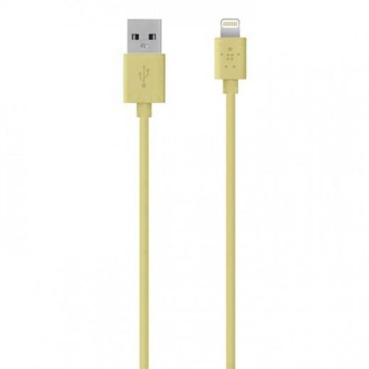 بلكين – كيبل 1.2 متر لأجهزة IOS – ذهبي