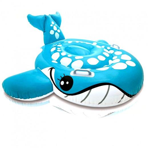 إنتكس – لعبة ركوب الحوت الأزرق الخجول في الماء