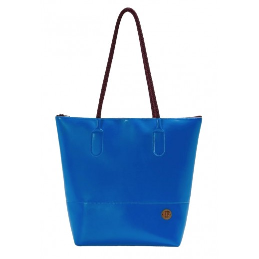"""إف باجز - حقيبة يد """"توتي"""" زرقاء"""