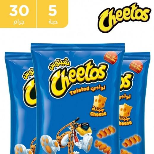 شيتوس تويستد - طعم الجبن 30 جم (5 حبة)