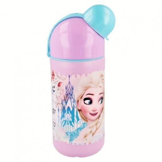 ديزنى - زجاجة للمياه بتصميم فروزن - 400 مل