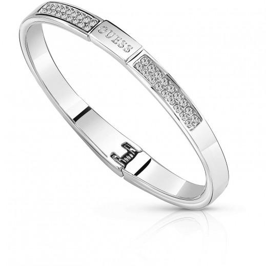 Guess Silver Armband - يتم التوصيل بواسطة Beidoun