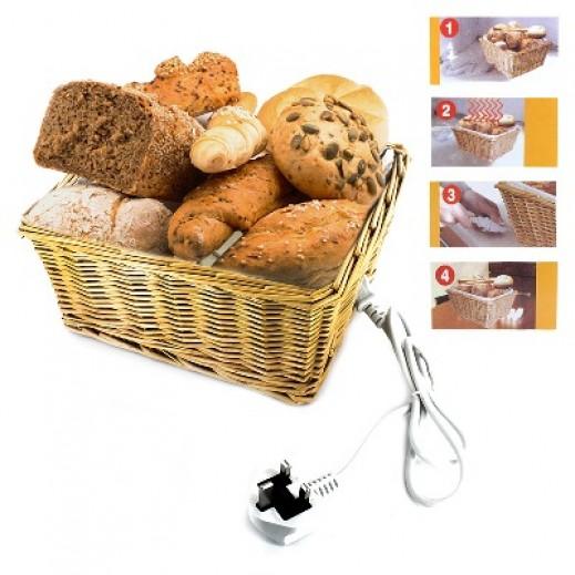 صندوق تسخين الخبز