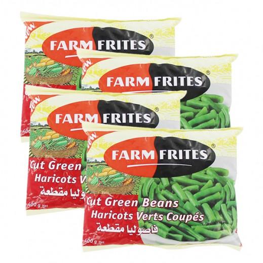 فارم فريتس – فاصوليا خضراء مقطعة مجمدة 4 حبة × 400 جم – أسعار الجملة