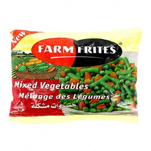 فارم فريتس - خضروات مشكلة مجمدة 400 جم