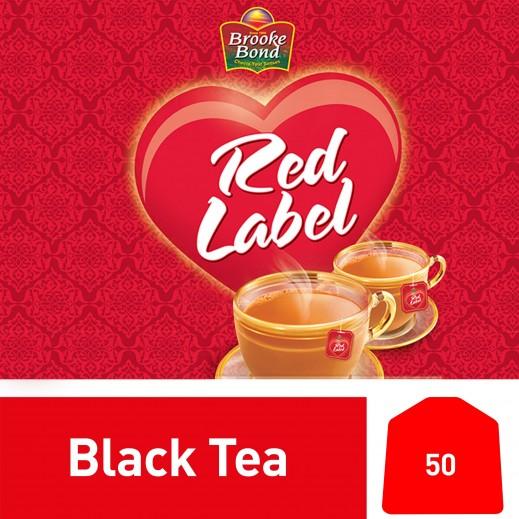 بروك بوند - شاي ريد ليبل أسود 50 كيس