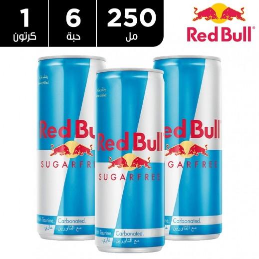 ريد بل مشروب الطاقة خالي من السكر 6 x 250 مل
