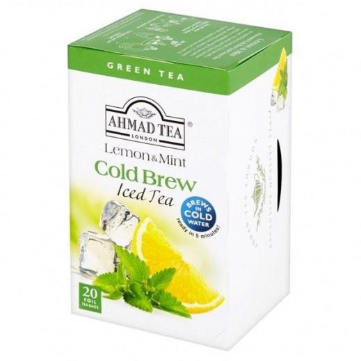 شاي أحمد - شاي بارد بالليمون والنعناع 20 كيس