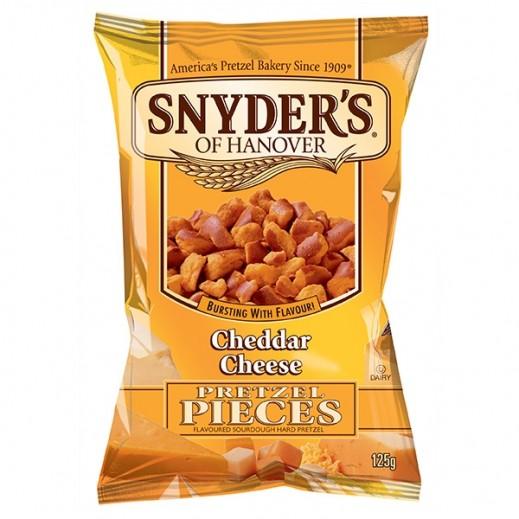 سنايدرز  - قطع الكعك المقرمشة بطعم الجبنة الشيدر 125 جم
