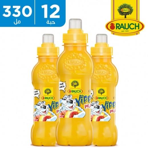 راوخ - عصير يابي بطعم الخوخ 12 × 330 مل