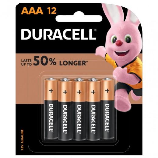 دوراسيل - بطاريات  AAA  مقاس - 12 حبة