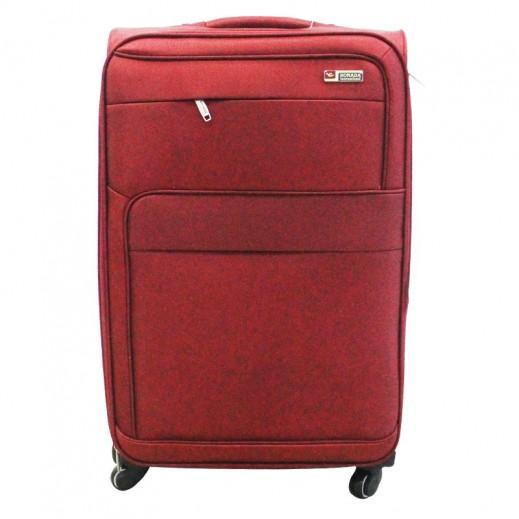 0871fce88e572 سونادا – 3 حقائب سفر بعجل – أحمر داكن. سونادا