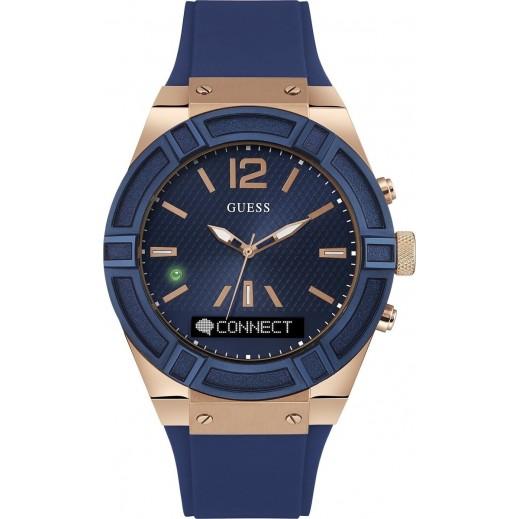 جيس - ساعة يد سمارت واتش، بلوتوث، للجنسين، أزرق - يتم التوصيل بواسطة Beidoun