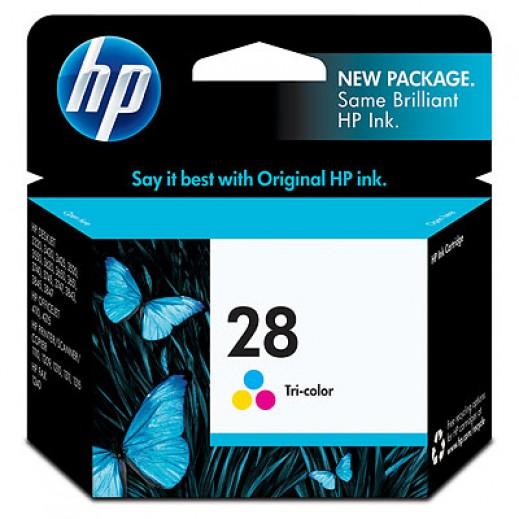 إتش بي – خرطوشة حبر HP 28 ألوان - 3 لون