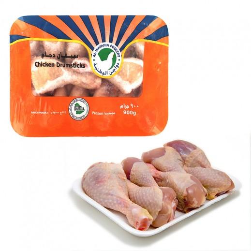 الوطنية – سيقان دجاج مجمدة  900 جم
