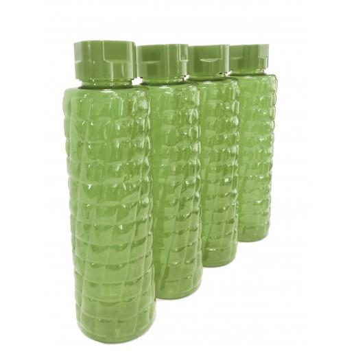 كندا - طقم زجاجة مياه 1050 مل (ألوان متعددة) - 4 حبة