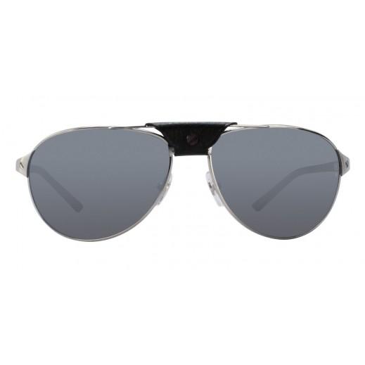 كارتير – نظارة شمسية (Santos ) أسود للرجال  - يتم التوصيل بواسطة Waleed Optics