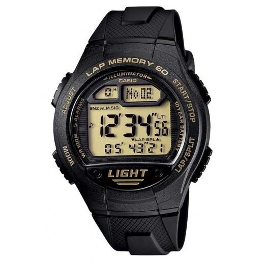كاسيو - ساعة يد رياضية كلاسيك رقمية رجالي بسوار أسود راتنج - يتم التوصيل بواسطة Veerup General Trading