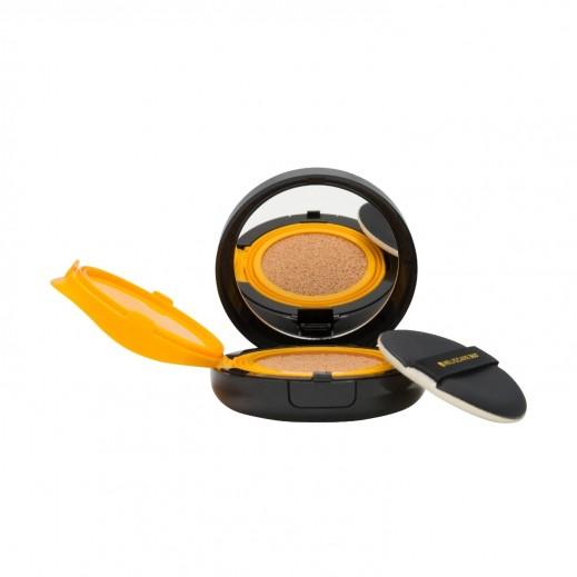 هيليوكير 360 وسادة ملونة مضغوطة بعامل حماية من الشمس 15 جم ذهبي