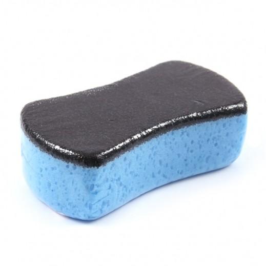 إسفنجة بوجهين 20 سم لغسل وتلميع السيارات