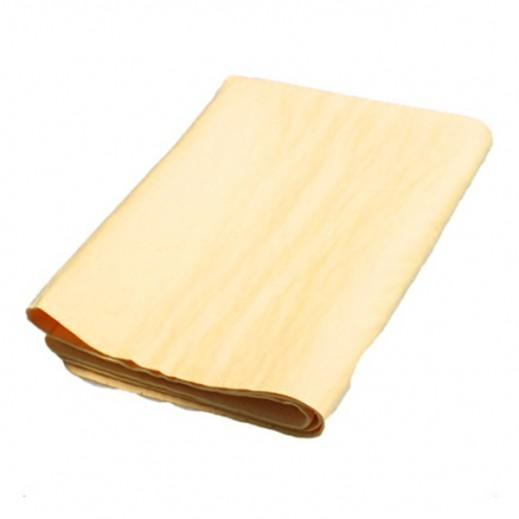 قطعة جلد سريعة التجفيف 90 سم - اصفر