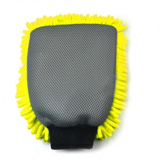 قفاز لغسيل السيارات - اصفر