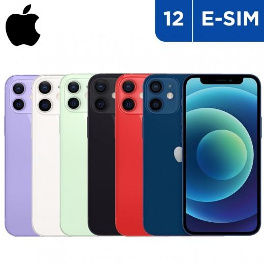 أبل – هاتف آيفون 12 5G بشريحة e-sim
